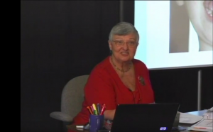 Barbara J. Greene teaching